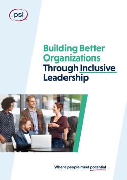Inclusive Leadership White Paper Cover