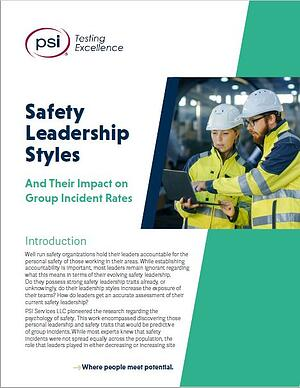 Safety Leadership Styles White Paper- PSI Branded- Screenshot
